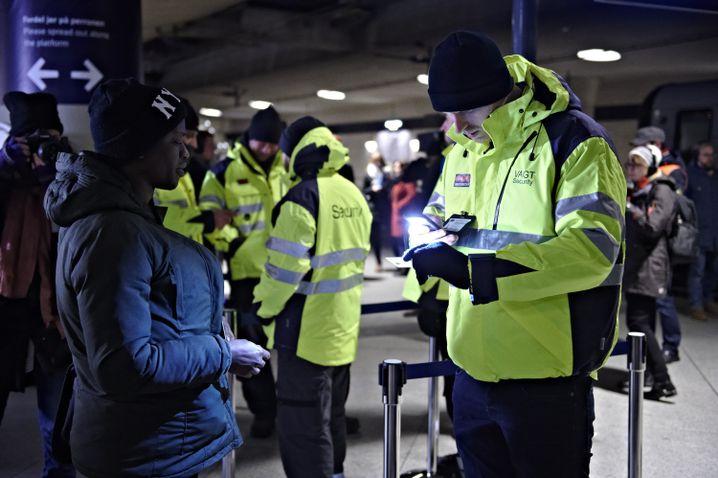 Grenzkontrollen am Flughafen Kopenhagen