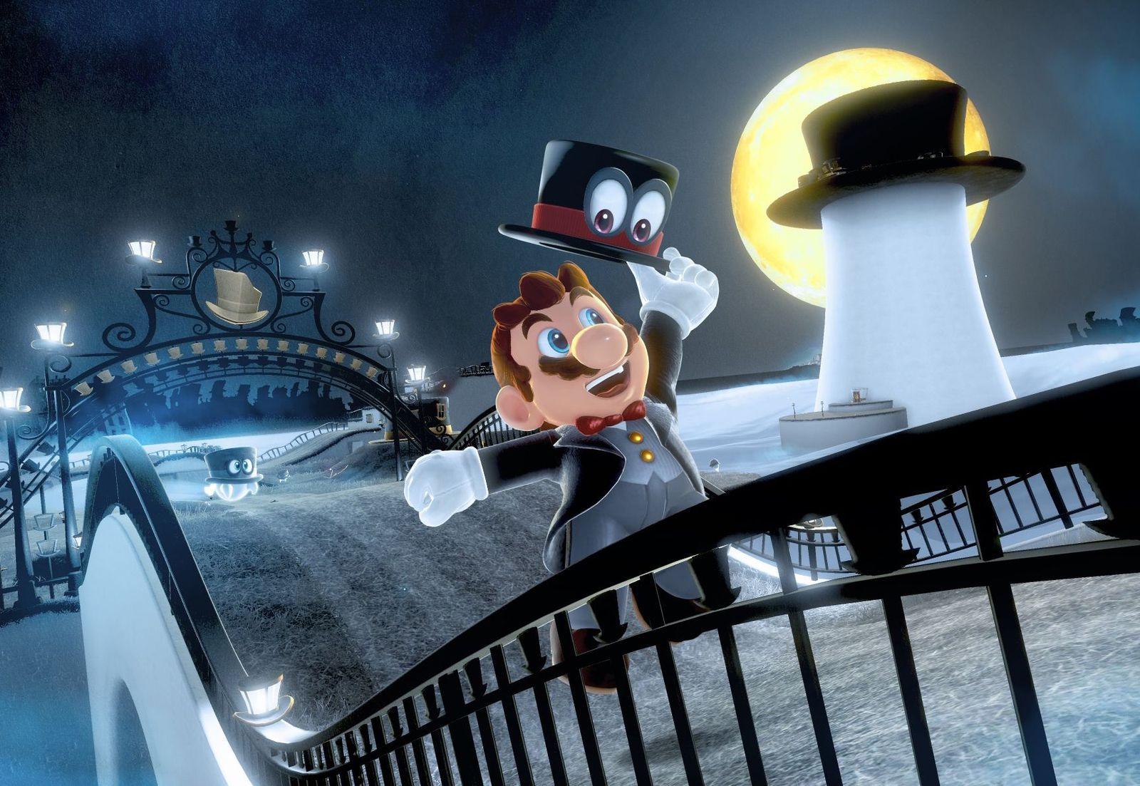 NUR ALS ZITAT Screenshot Super Mario Odyssee/ 12