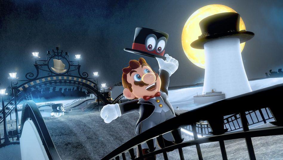 """""""Super Mario Odyssey"""" für Nintendos Switch"""