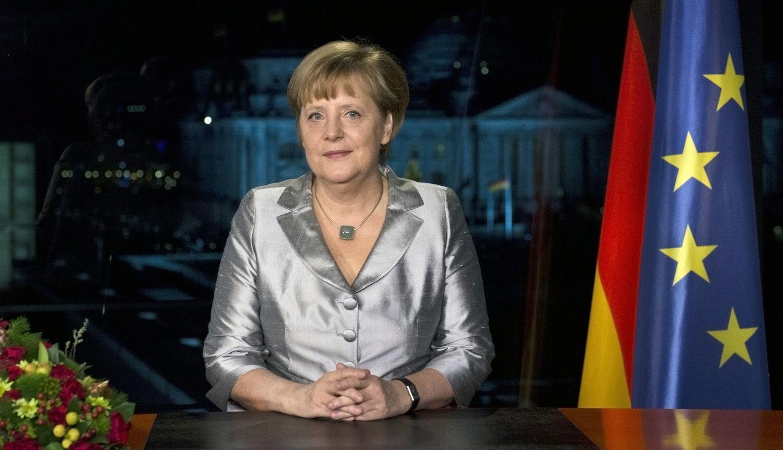 Merkel / Neujahrsansprache