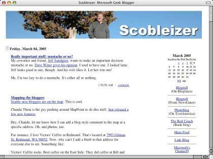 Microsoft-Blog von Bob Scoble: Den verhassten Konzern sympathisch gemacht
