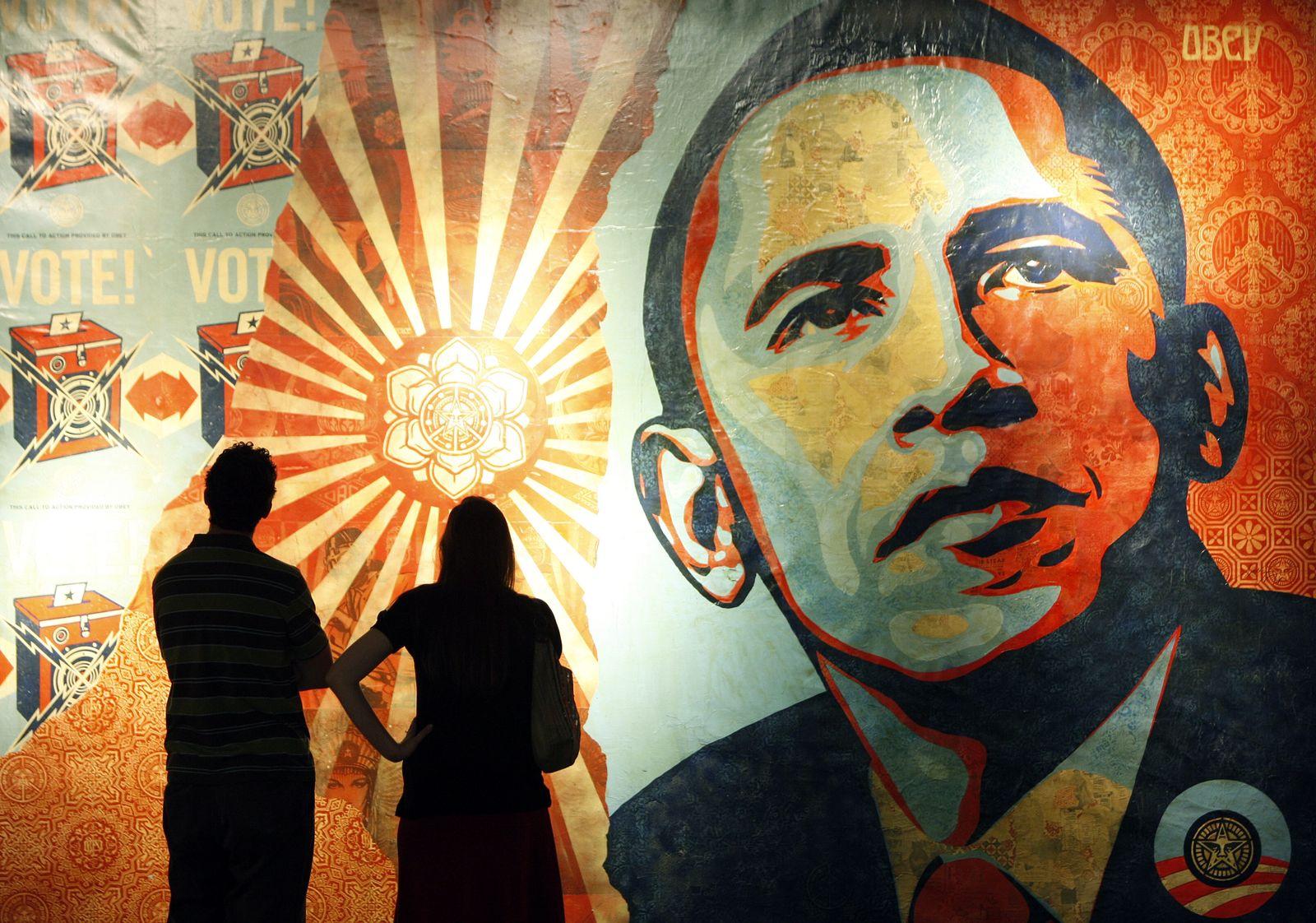 Obama Bilanz / Hope Symbol