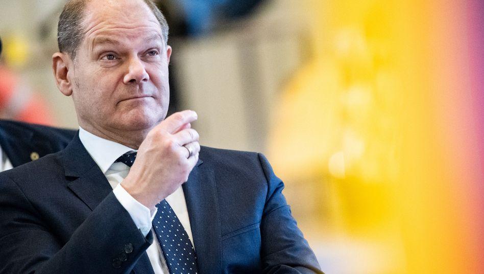 Olaf Scholz (SPD):