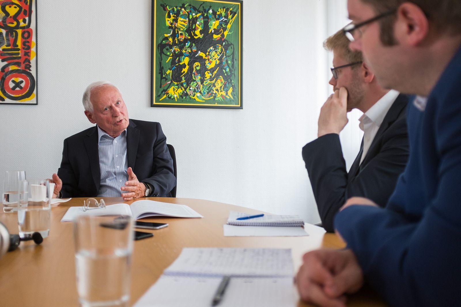 EINMALIGE VERWENDUNG Interview Oskar Lafontaine