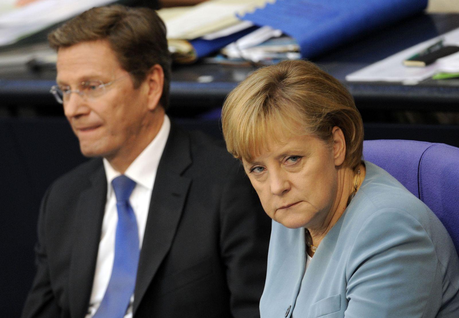 Merkel / Westerwelle
