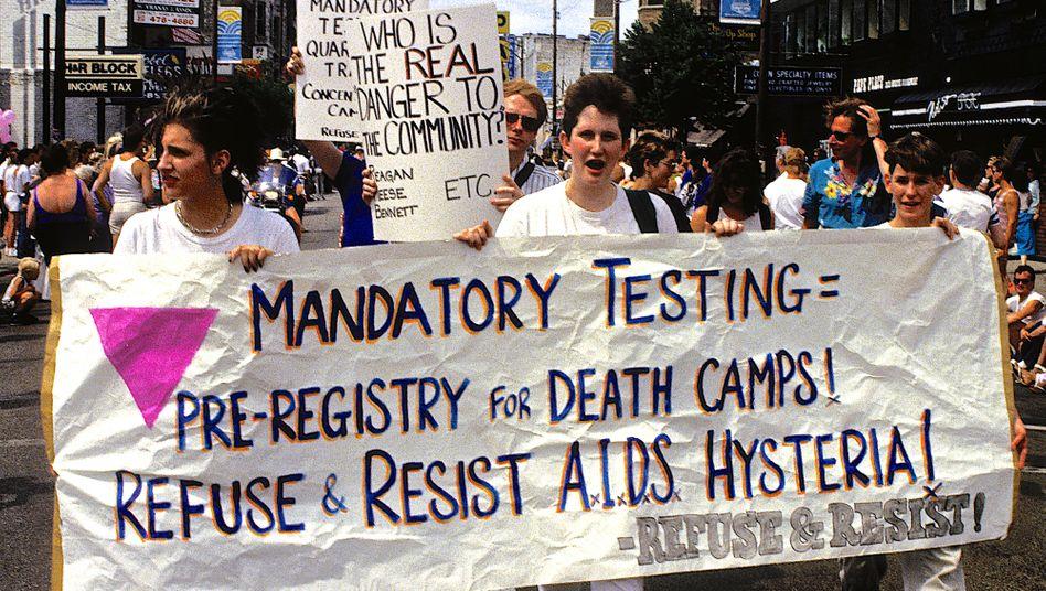 Pride-Parade in Chicago 1987: Das rasante Näherkommen des unbezwingbaren Gegners