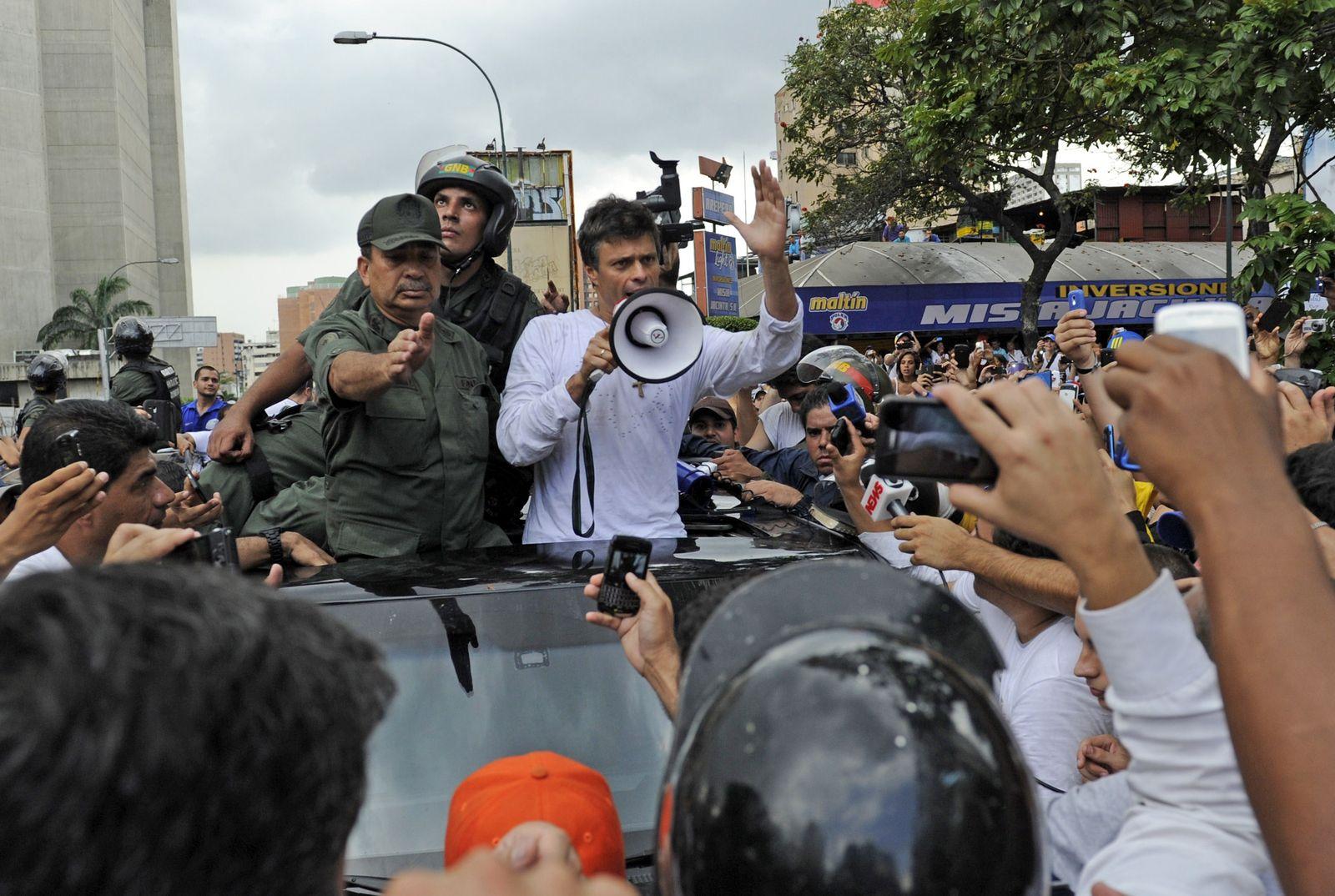 Venezuela Opppositionspolitiker Leopoldo López