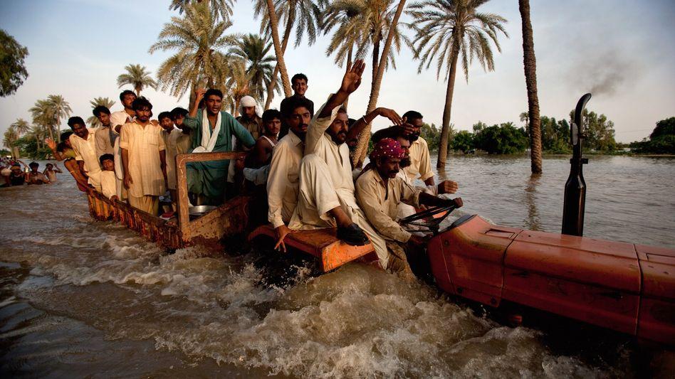 Pakistans Elend: Gefangen in der Wasserhölle