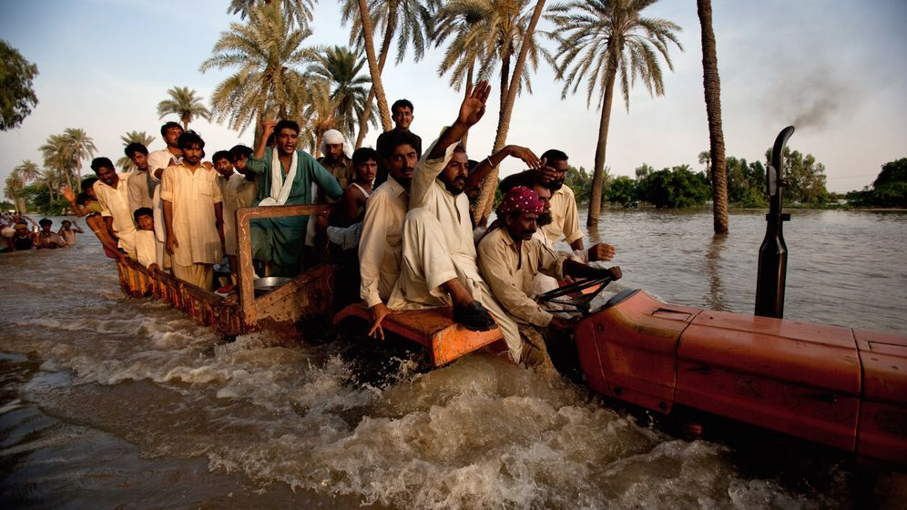 Flutkatastrophe in Pakistan: Das Elend der Flüchtlinge