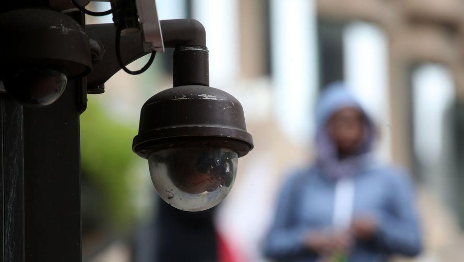 Überwachungskamera in San Francisco (Symbolbild)