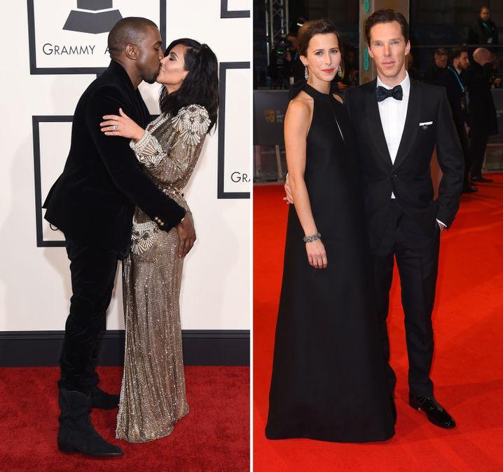 Kanye West / Kim Kardashian vs. Sophie Hunter / Benedict Cumberbatch