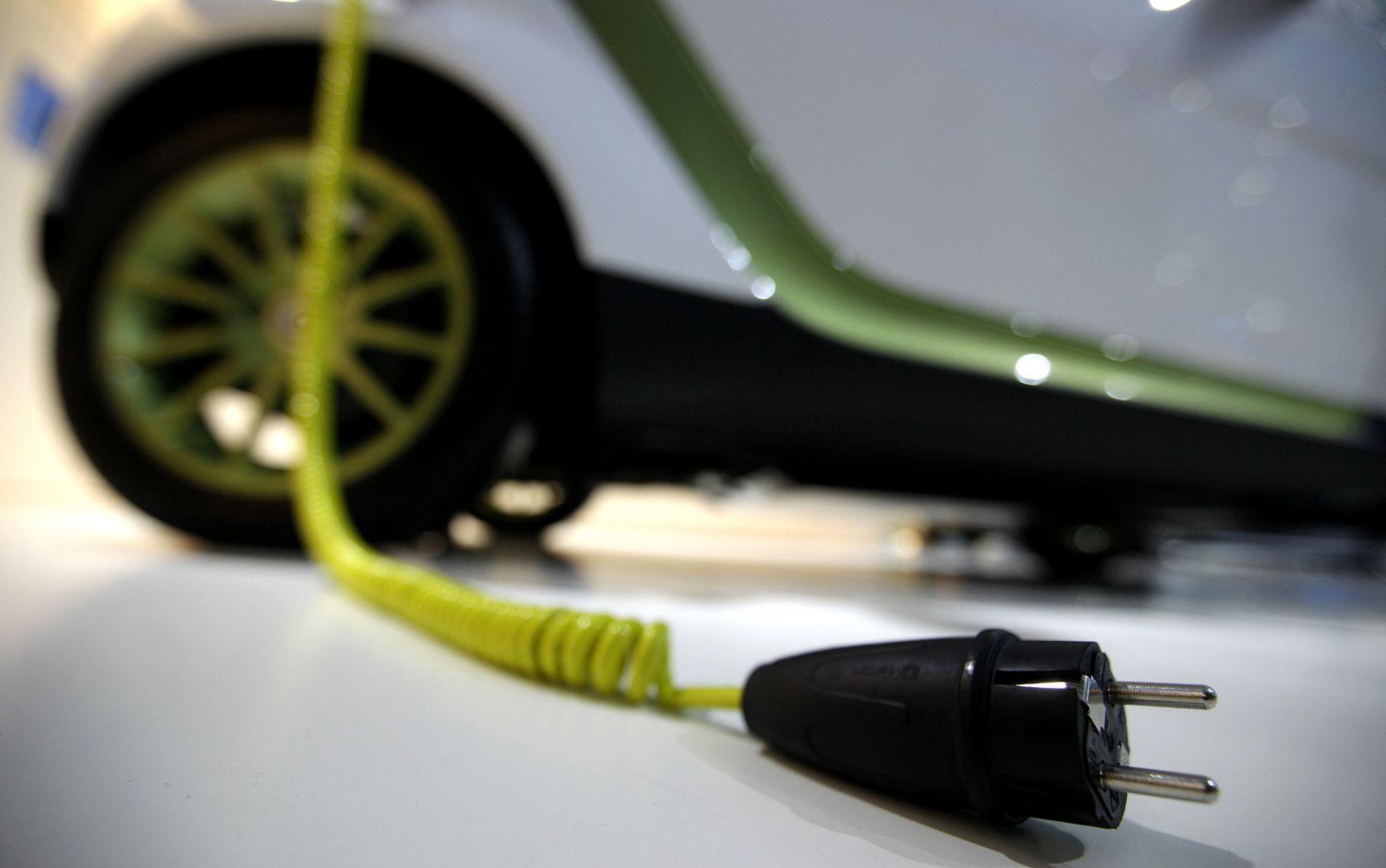 Elektro Auto / Symbol