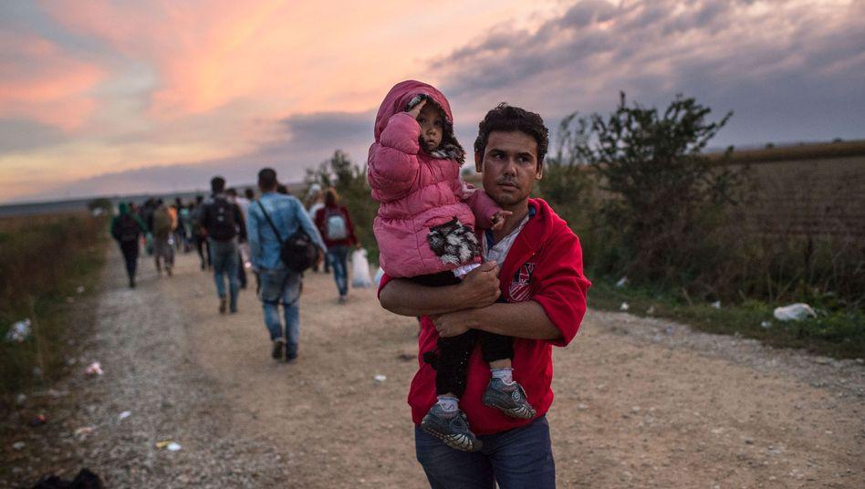 Afghanischer Flüchtling in Serbien: 70.000 Afghanen sind 2015 in Europa angekommen
