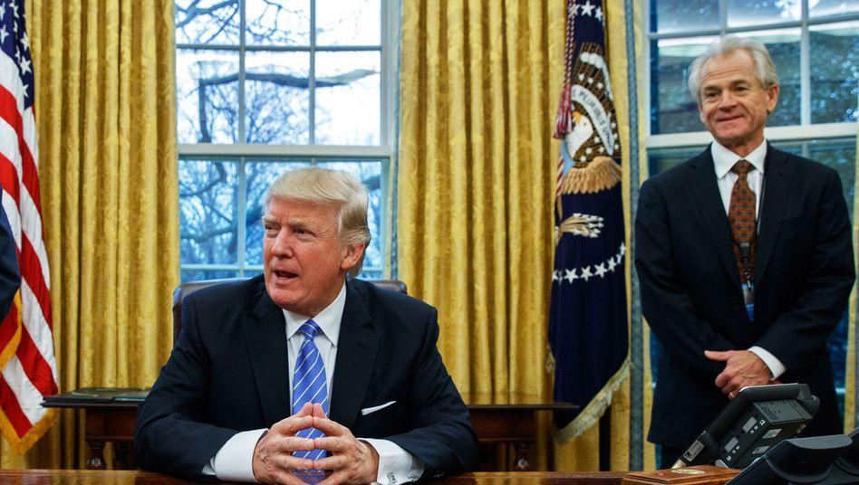 Präsident Trump, Handelsberater Navarro