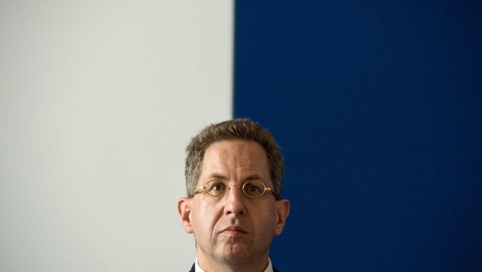 """BfV-Präsident Maaßen: """"Nicht jeder Fehler ist ein Skandal"""""""