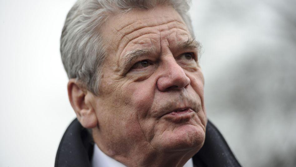 Bundespräsident Gauck: Olympia-Boykott als Zeichen für Menschenrechte