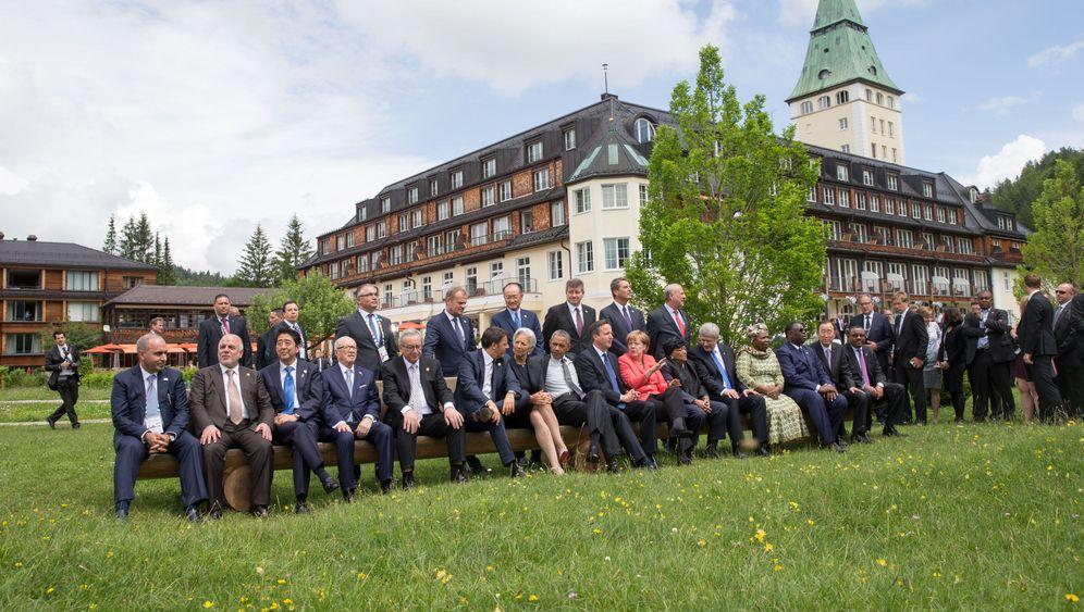 G7: Funkelnde Fotos, gigantischer Aufwand