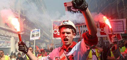 Mai-Demo in Frankreich: Gewerkschafter galten lange als Plagegeister