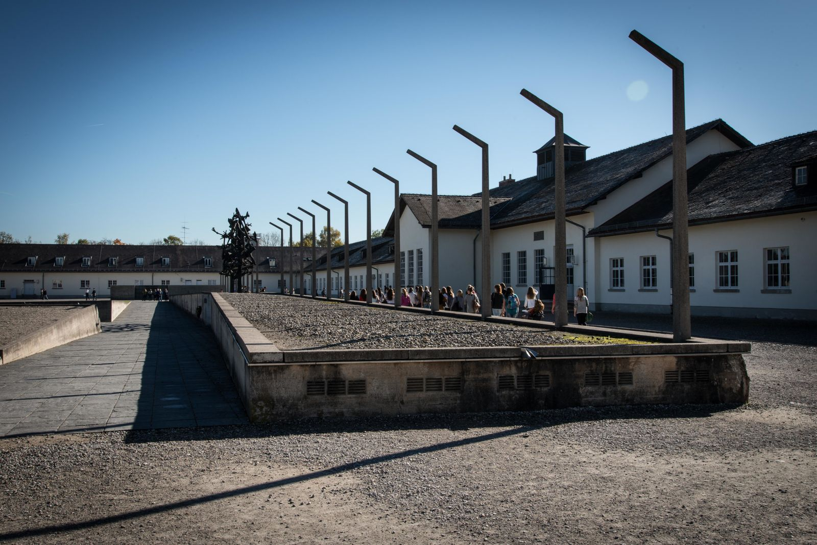Dachau concentration camp in Germany was first opened as a