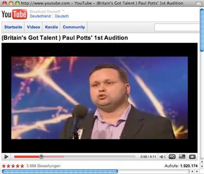 Opern-Sänger Paul Potts: Eine Casting-Sendung machte ihn berühmt, die Telekom-Werbung berüchtigt