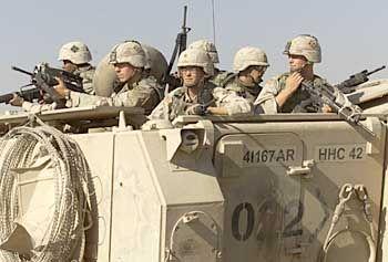 Immer in Gefahr: US-Soldaten auf Patrouille