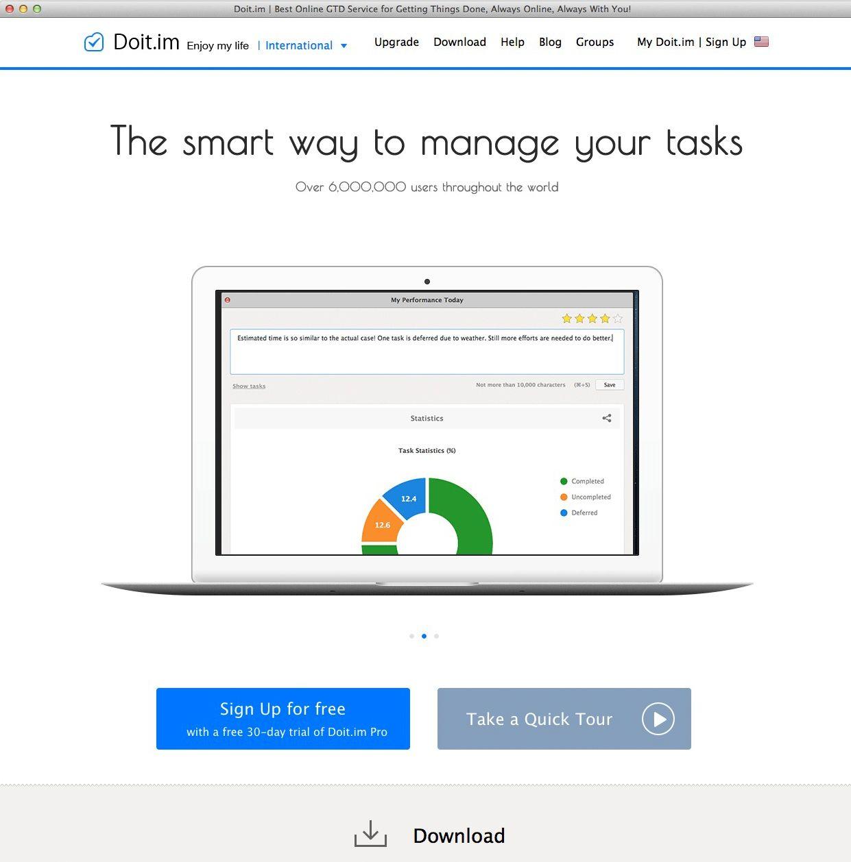 EINMALIGE VERWENDUNG Screenshot/ To-do Software