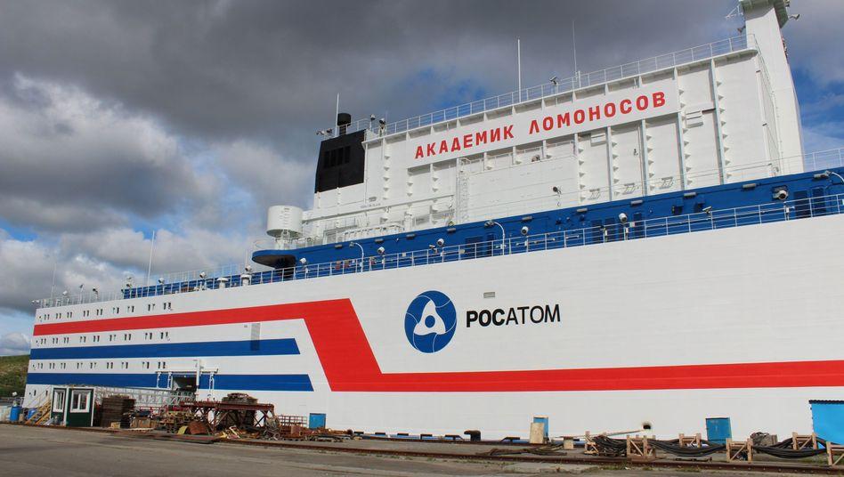An Bord des schwimmenden AKW befinden sich zwei Atomreaktoren