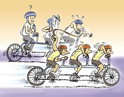 Trittbrettradler: Die Peitsche sorgt für Kooperation