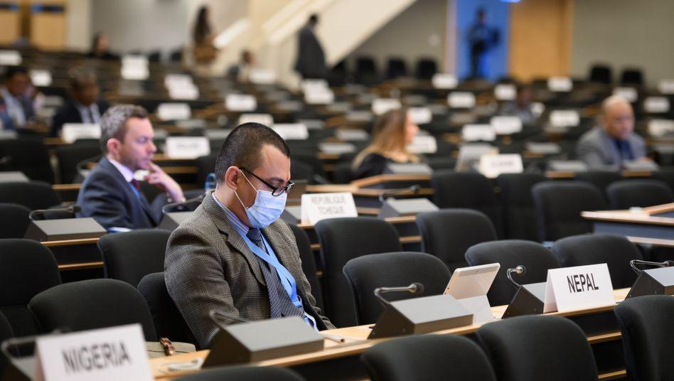 Diese Bilder will die UN eher vermeiden: Mittlerweile werden Diplomatentreffen vorsichtshalber abgesagt - vor allem, wenn sie in Deutschland stattfinden.