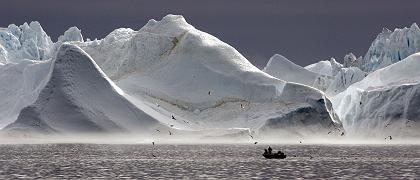 """Der Eisfjord in Grönland: """"Wie in einem Science-Fiction-Film"""""""