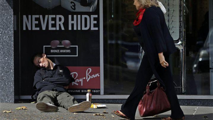 Armut in den USA: Ohne Obdach