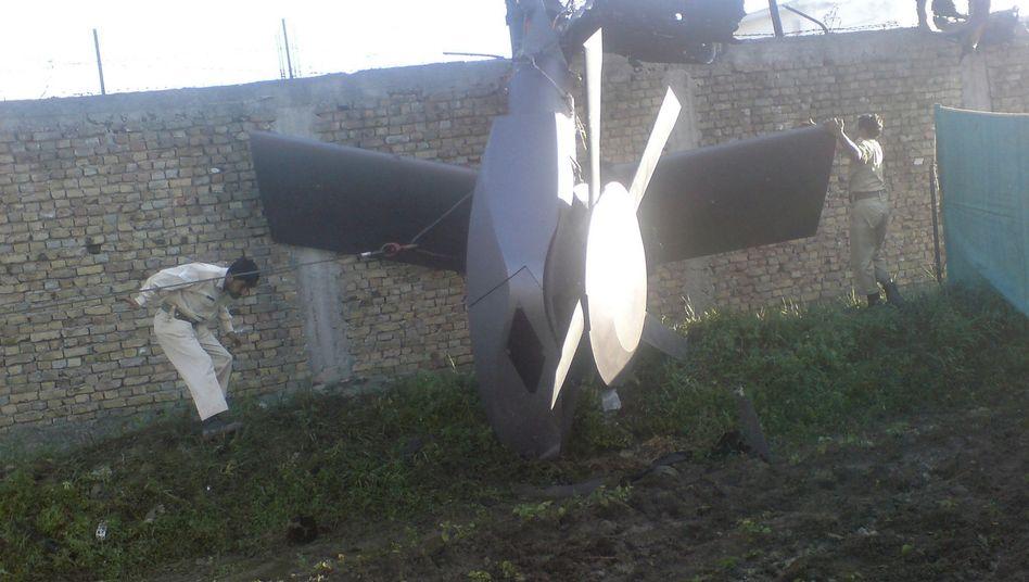 Zerstörter US-Hubschrauber in Abbottabad: China weist Berichte über Inspektion zurück