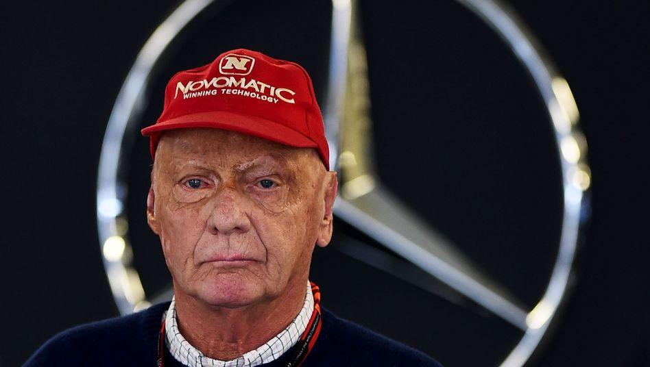 Formel-1-Ikone Lauda: Auch weiterhin für Mercedes an Bord