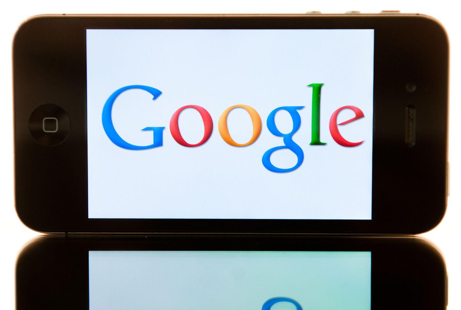 Google Logo iPhone