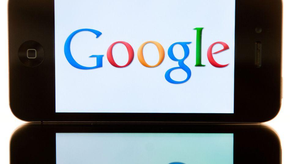 Google-Logo auf einem iPhone: Voreinstellungen des Apple-Browsers ausgehebelt