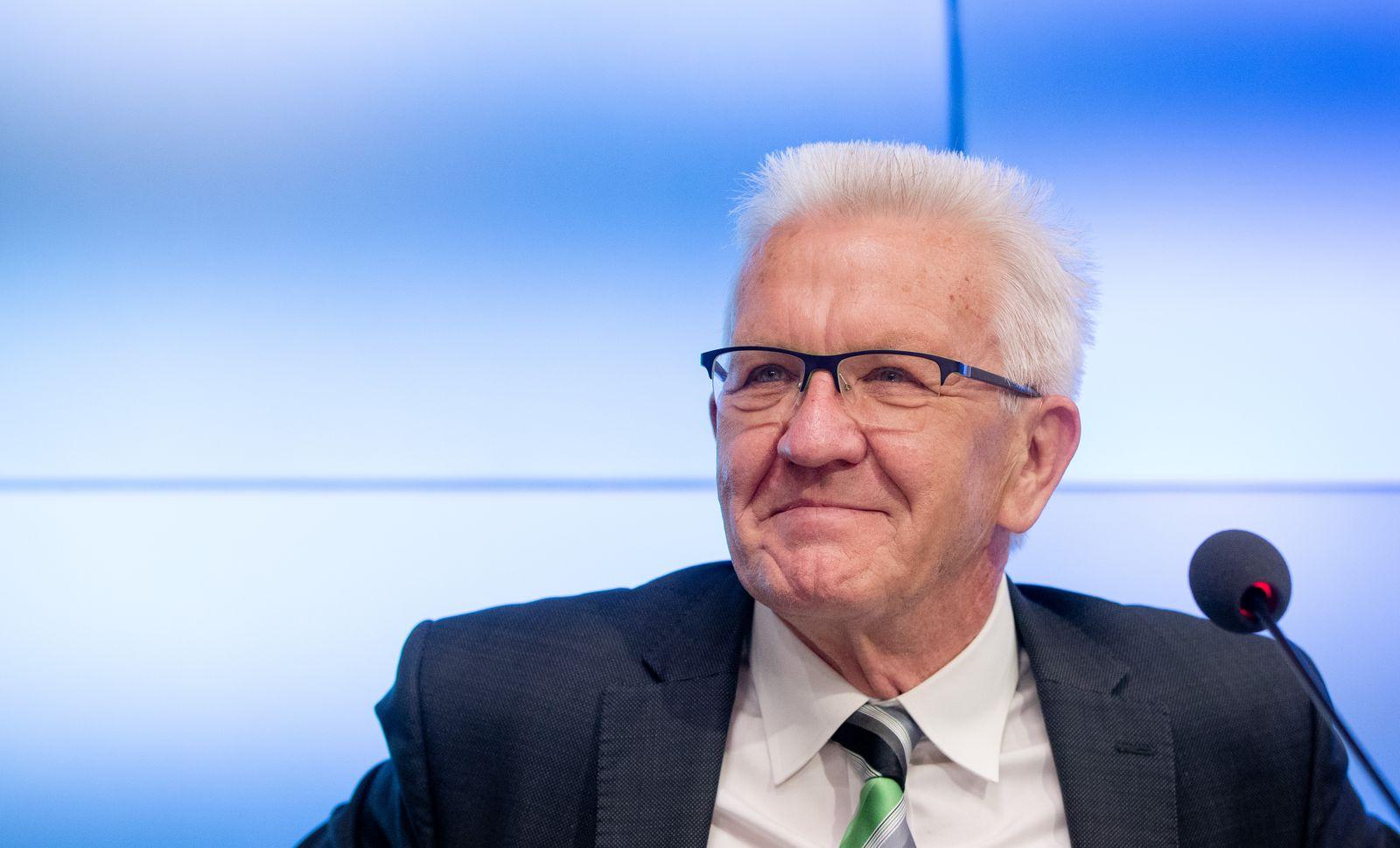Regierungspressekonferenz Baden-Württemberg zu Corona