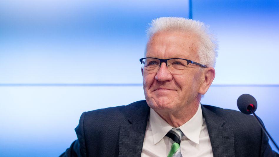 Grüner Ministerpräsident Kretschmann: »Grün und Baden-Württemberg passt gut zusammen«