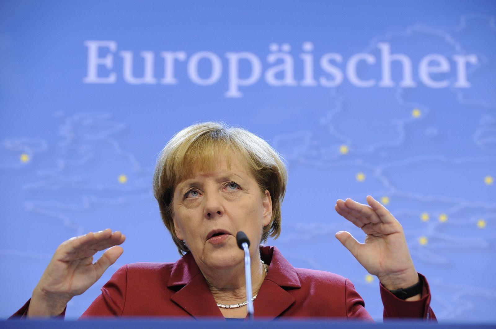 Merkel/ Brüssel