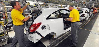 Autoproduktion in Deutschland (bei Opel): Kreditklemme erfasst Firmen
