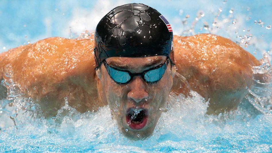 US-Schwimmer Phelps: Wieder keine Goldmedaille
