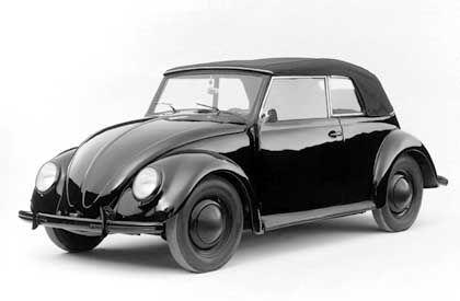 Der Prototyp des Käfer Cabrio wurde 1938 präsentiert: Gebaut wurden nur zwölf Exemplare