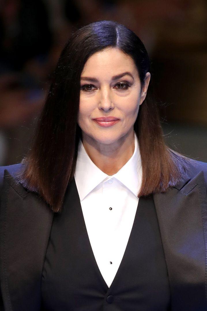 Monica Bellucci bei Dolce & Gabbana