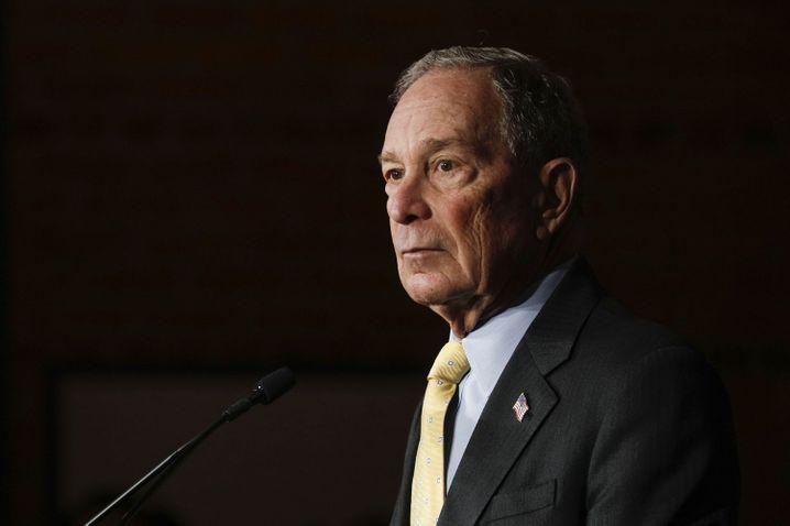 Milliardär mit Plan: Mike Bloomberg
