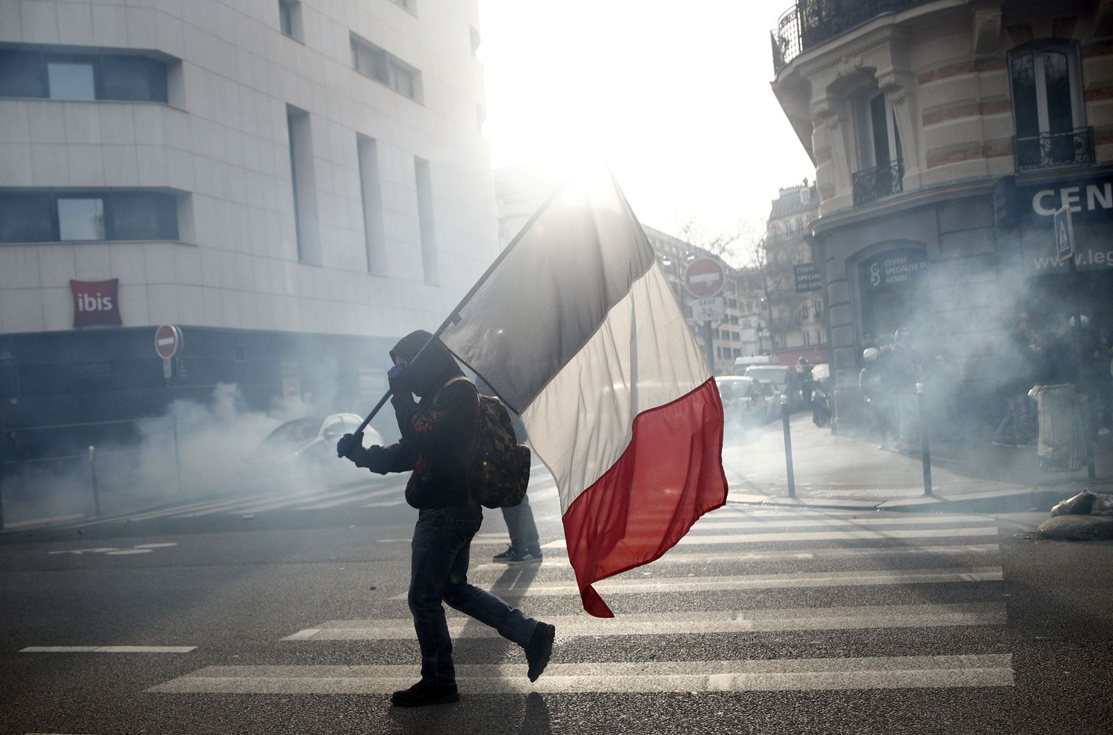 National day of protest in France, Paris - 11 Jan 2020