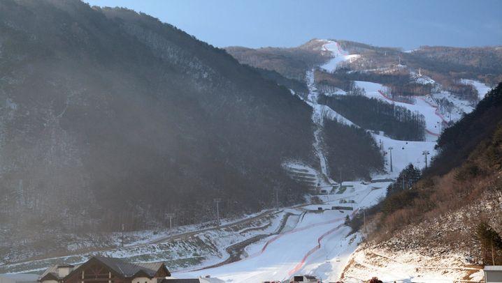 Winterspiele in Pyeongchang: Kunstschnee für die Olympioniken
