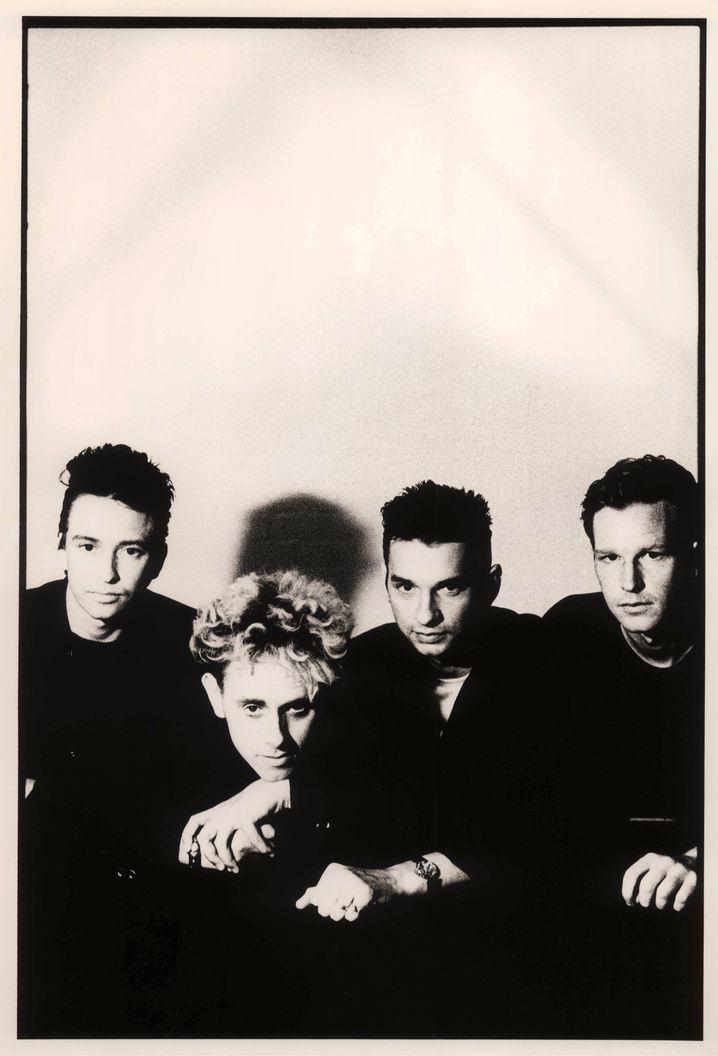 Depeche Mode Mitte der Achtzigerjahre