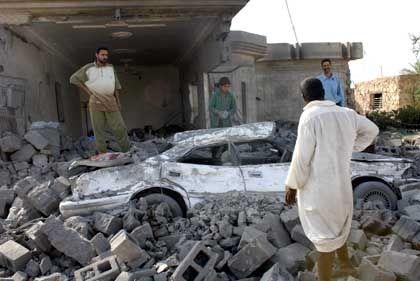 Zerstörungen in Falludscha: Lage leicht entspannt