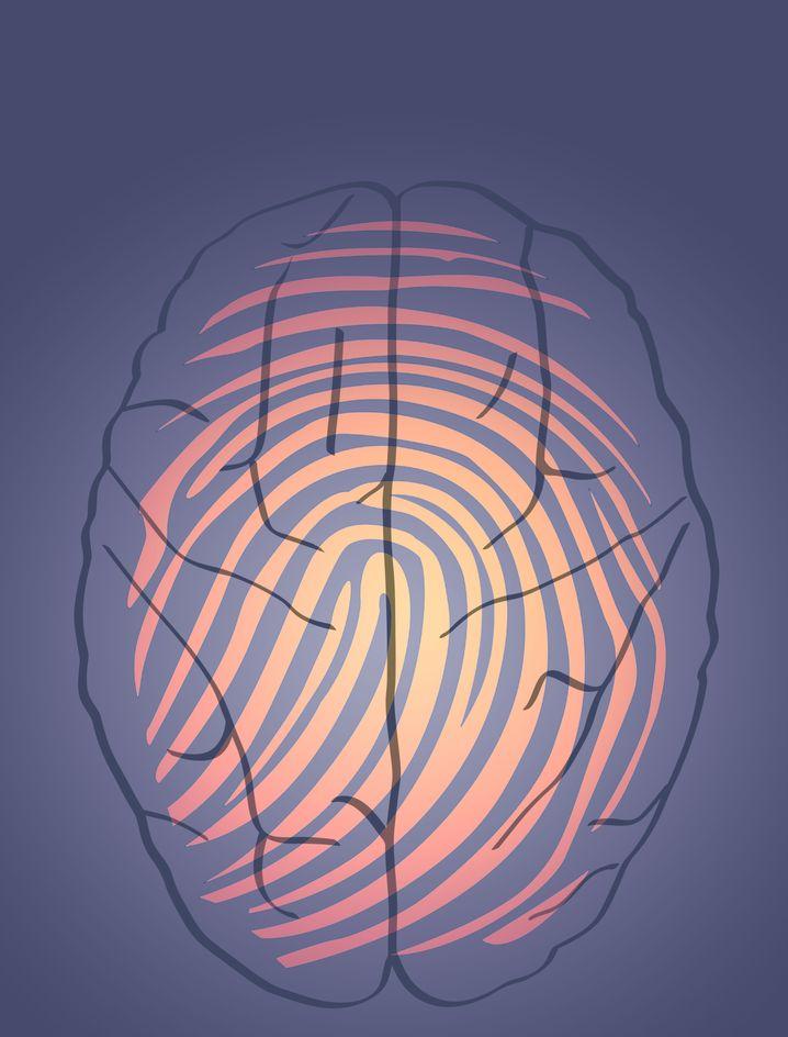Die Hirnaktivität eines Menschen bildet eine Art Fingerabdruck