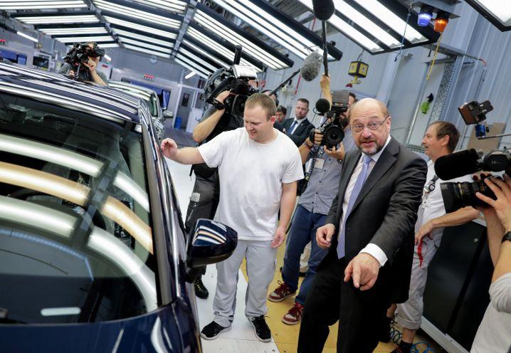 Audi-Werksbesuch in Ingolstadt