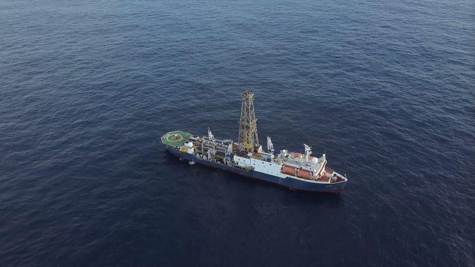 """Bohrschiff """"JOIDES Resolution"""", mit dessen Hilfe ein Klimaarchiv entstand"""